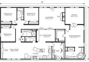 Prefab Home Floor Plans Modular Home Plans 4 Bedrooms Mobile Homes Ideas