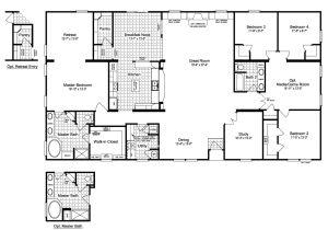 Prefab Home Floor Plans the Evolution Vr41764c Manufactured Home Floor Plan or