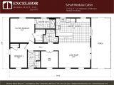 Prefab Homes Floor Plans Schult Modular Cabin Excelsior Homes West Inc