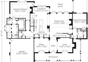 Production Home Plans southern Living House Plans First Floor Master
