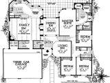 Pueblo Home Plans Pueblo Style Ranch Home Plan 81387w 1st Floor Master