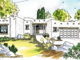 Pueblo Style Home Plans Pueblo Style House Plan 72191da Architectural Designs