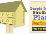 Purple Martin House Plans Free Download Purple Martin Bird House Plans 16 Unit Construct101