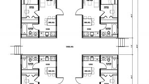 Quad Home Plans Quad House Plans Find House Plans