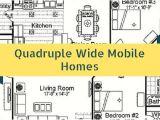 Quadruple Wide Mobile Home Floor Plans the Benefits Of Quadruple Wide Mobile Homes A Quick