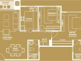 Queensgate Homes Floor Plan 1210 Sq Ft 2 Bhk 2t Apartment for Sale In House Of
