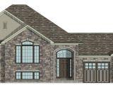 Raised Bungalow Home Plans House Plans Canada Stock Custom
