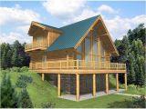 Raised Home Plans Leola Raised A Frame Log Home Plan 088d 0046 House Plans