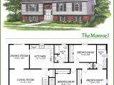 Raised Homes Floor Plans Raised Ranch Signature Building Systems Custom Modular