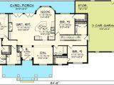 Rambling Ranch House Plans Plan 89821ah 3 Bedroom Rambling Ranch House Plans