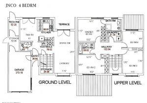Ramstein Housing Floor Plans Nco townhouse Floorplan Kaiserslautern United States