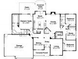 Ranch Home Floor Plans Ranch House Plans Pleasanton 30 545 associated Designs