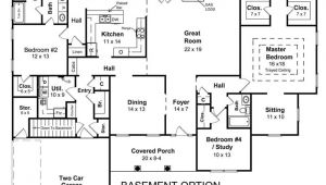 Ranch Home Floor Plans with Basement Ranch House Floor Plans with Basement 2018 House Plans
