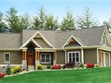 Ranch Home Plans Craftsman Inspired Ranch Home Plan 15883ge