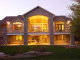 Ranch Home Plans with Walkout Basement Walkout Basement House Plans Stinson S Gables Oke