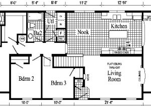 Ranch Homes Floor Plans Oakland Ranch Style Modular Home Pennwest Homes Model S