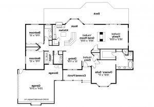 Ranch Homes Floor Plans Ranch House Plans Grayling 10 207 associated Designs