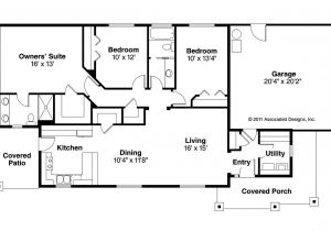 Ranch Homes Floor Plans Ranch House Plans Hopewell 30 793 associated Designs