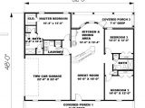 Ranch House Plans Under 1500 Square Feet Ranch Plan 1 500 Square Feet 3 Bedrooms 2 Bathrooms