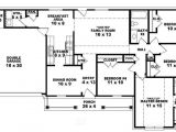 Ranch House Plans with Bedrooms together Awesome Single Story 4 Bedroom House Plans Gallery Plan