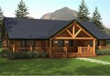 Ranch Log Home Floor Plans Ranch Style Homes Hickory Spring Log Home Floor Plans
