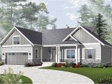 Ranch Style Home Design Plans Airy Craftsman Style Ranch 21940dr Architectural
