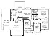 Ranch Style Home Plans with Basement Cape Cod House Ranch Style House Floor Plans with Basement