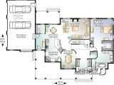 Ranch Style Homes with Open Floor Plans House Plan W2671 Detail From Drummondhouseplans Com