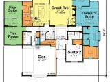 Ranch Style House Plans with 2 Master Suites Dual Master Suite Ranch Home Plans