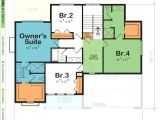 Ranch Style House Plans with Two Master Suites Ranch House Plans with Dual Master Suites