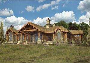 Ranch Style Log Home Floor Plans Simple Log Cabins Log Cabin Ranch Style Home Plans Custom