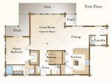 Real Log Homes Floor Plans the Middleton Log Home Floor Plans Nh Custom Log Homes
