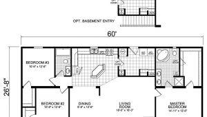 Redman Mobile Home Floor Plans Manufactured Homes Plans Factory Homes