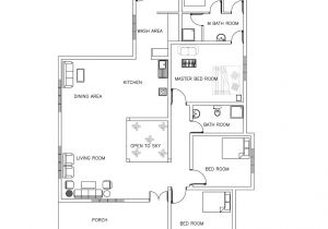 Residential Home Plans Cad Dwg Drawings Bibliocad Vip Account Hack Three Room House Plan Plans Dwg