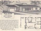 Retro Home Plans Vintage House Plans 173h