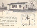 Retro Home Plans Vintage House Plans 305h