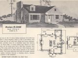 Retro Home Plans Vintage House Plans 314h