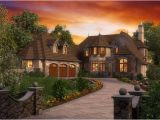 Rivendell Cottage House Plans Storybook Design with Three Bedrooms