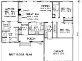 Rosewood Homes Floor Plans First Floor Plan Of the Rosewood House Plan Number 1092