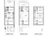 Row Home Floor Plan Brownstone Row House Floor Plans