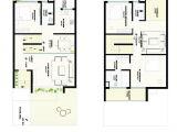 Row Home Floor Plans Row House Plans 3 Story Row House Plans Planskill Modern