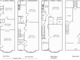 Row Home Floor Plans Rowhouse Floor Plans Find House Plans