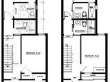 Row Home Floor Plans Rowhouse Floor Plans Unique House Plans