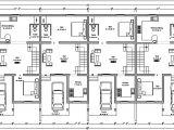 Row Home Plans 37 Beautiful Duplex Floor Plans with Garage Home Idea