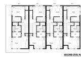 Row Home Plans Row Home Floor Plan Beautiful Row House Plans Detached Row