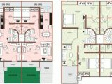 Row Housing Plans Recommended Row Home Floor Plan New Home Plans Design