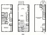 Row Housing Plans Row House Floor Plans Architectural Designs