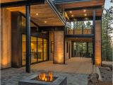 Rustic Contemporary Home Plans Mountain Retreat Blends Rustic Modern Styling In Martis Camp