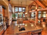 Rustic Home Designs with Open Floor Plan Rustic Kitchen House Plans Home Deco Plans