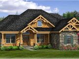 Rustic Home Plans with Walkout Basement Rustic House Plan with Walkout Basement 3883ja